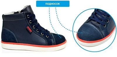 OB konstrukciya 5 Важные особенности обуви Ортобум в помощь малышам и их родителям